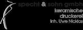Logo - Specht & Sohn - Inhaber Uwe Nicklas